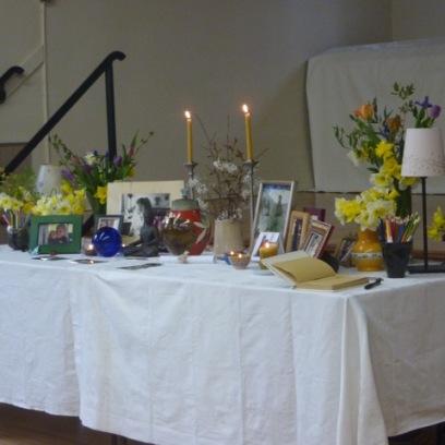 Memorial Table