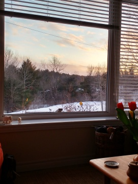 December out the window