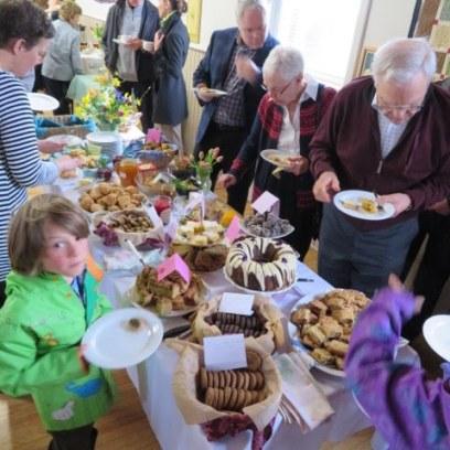 Memorial Gathering Feast Table