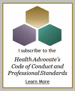 Health Advocate Code Badge